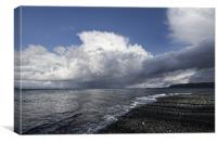 Storm over Queen Charlotte Strait, Canvas Print