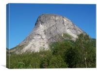 Norwegian Mountain, Canvas Print