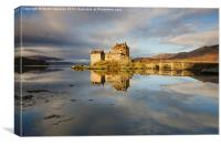 Eilean Donan Castle Sunrise, Canvas Print