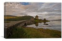 Morning Reflections, Eilean Donan Castle., Canvas Print