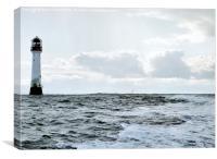 Bell Rock Lighthouse, Canvas Print