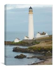 Scurdy Ness Lighthouse, Canvas Print