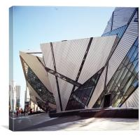 Royal Ontario Museum, Bloor Street Entrance, Canvas Print