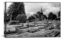 Grave Yard, Canvas Print
