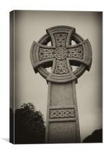 Stone Cross, Canvas Print