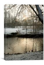 Snowy River, Canvas Print
