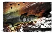 Wreck, Canvas Print