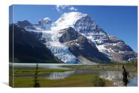 Mt. Robson C, Canvas Print