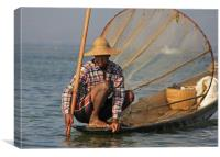 Fisherman, Canvas Print