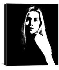 Portrait, Canvas Print