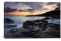 Kauai Storm Passing, Canvas Print