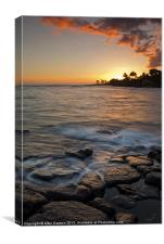 Paradise Sunset, Canvas Print