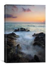 Rocky Inlet Sunset, Canvas Print