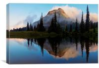 Cascade Mirror, Canvas Print
