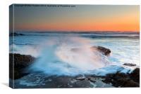 Ocean Dance, Canvas Print
