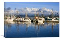 Bayside Reflections, Canvas Print