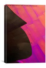 Color Waves, Canvas Print