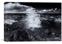 The Sea Erupts, Canvas Print