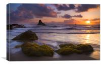 Golden Tides, Canvas Print