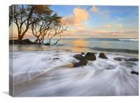 Sunset Tides, Canvas Print