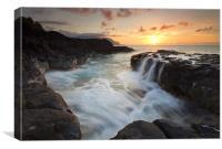 Na Pali Sunset, Canvas Print