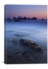 Seal Rock Glow, Canvas Print
