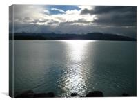 Lake Taupo New Zealand, Canvas Print