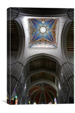 Colourful Cathedral, Canvas Print