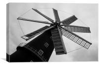 Wonderful Windmill, Canvas Print