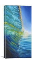 Shorebreak, Canvas Print