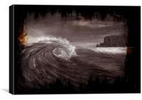 Cliffside, Canvas Print