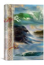 i Waves, Canvas Print