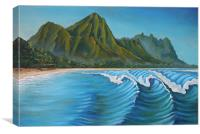 Makua Nalu, Canvas Print