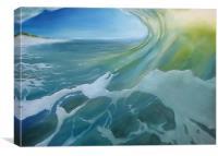 Beach Break, Canvas Print