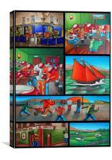 Galway Memories, Canvas Print