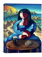 Monica, Canvas Print