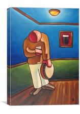 Last Man Standin, Canvas Print