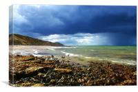 West Runton, North Nofolk, Canvas Print