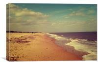 North Beach- Great Yarmouth, Canvas Print