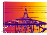 thermal pylon, Canvas Print