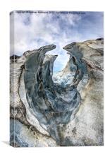 Franz-Josef Glacier, Canvas Print