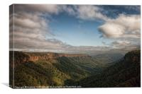Blue Mountains, Canvas Print