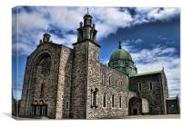 Galway Cathedral, Canvas Print