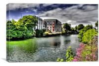 River Corrib - Galway, Canvas Print