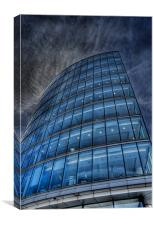 South bank building, Canvas Print