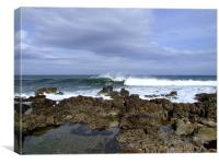 Wave breaking in Lossiemouth