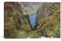 Ravine in Wales