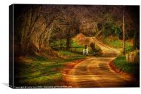 On The Road Again., Canvas Print