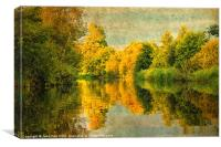River Ant, Norfolk, Canvas Print