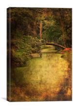 River Bridge, Canvas Print